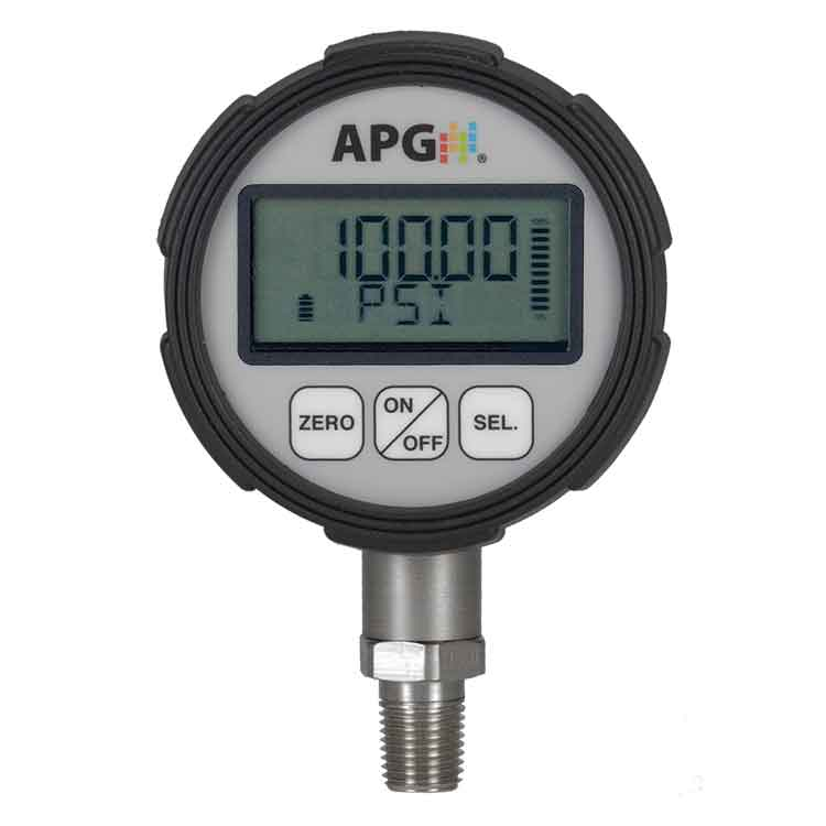 PG7 IP67 Digital Pressure Gauges with 0.25% Accuracy