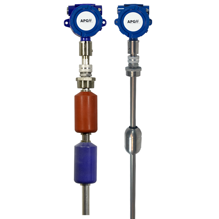 APG's new MPX-R and MPX-T API 18.2 Custody Transfer Approved Magnetostrictive Level Probes