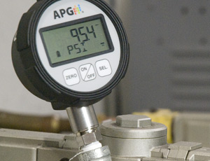 digital process pressure gauge