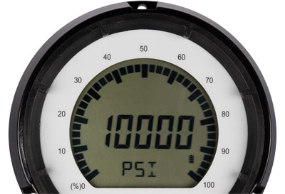 Digital pressure gauges offer a user interface for using it your way