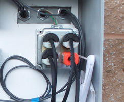 Signal cable should be routed away from power sources