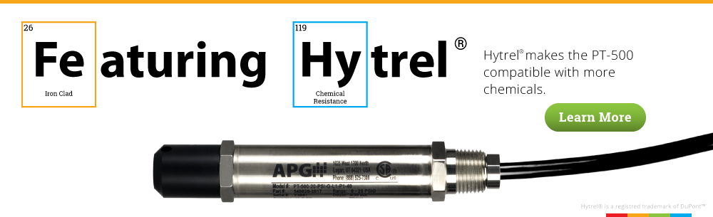 Hytrel Cables for PT-500 submersible sensors
