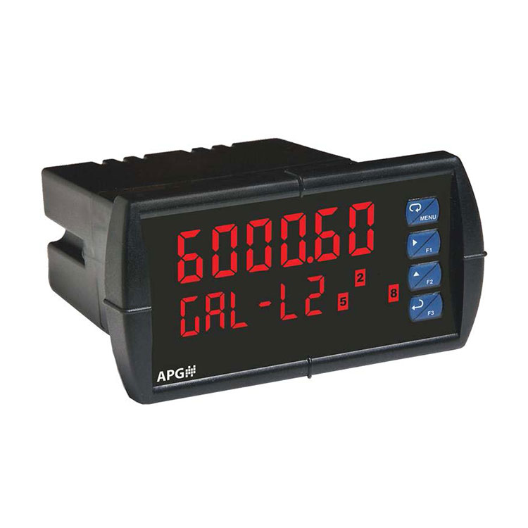 DDD Two-Line Analog-Input Digital Panel Meter | APG Sensors