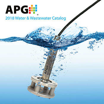 APG Sensors Water & Wastewater Catalog
