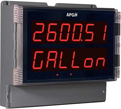 APG's DDL Large Digital Display Panel Meter