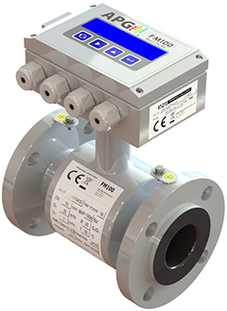 APG's new FM100 Programmable Magnetic Flowmeter