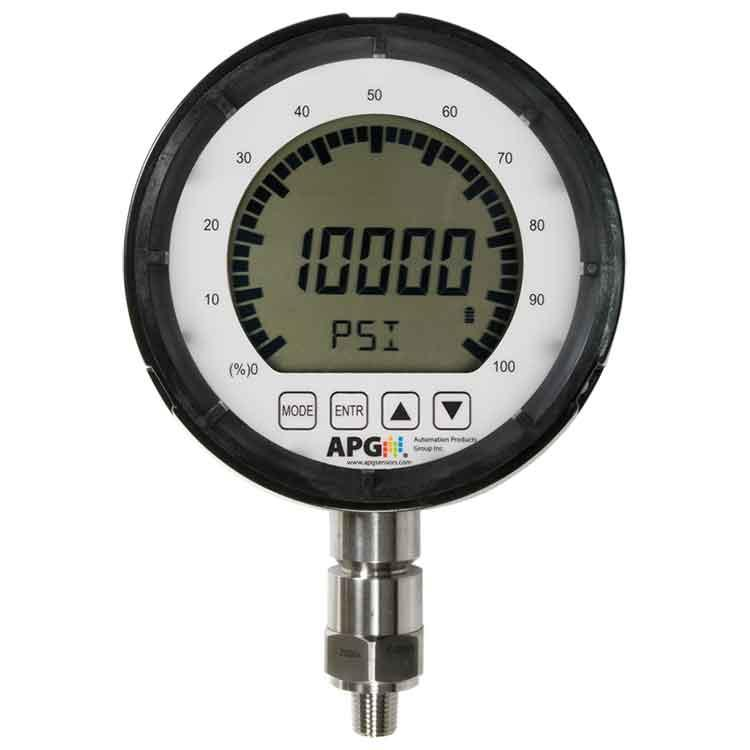 "PG10 IP65 Digital Pressure Gauge with 5.5"" Display"