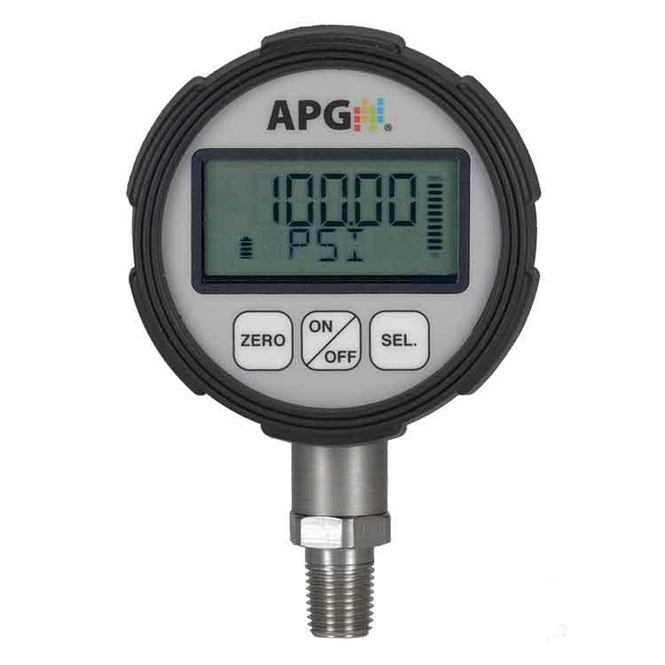 PG7 IP67 Digital Pressure Gauge with 0.25% Accuracy