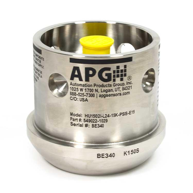 APG HU1502 Recalibratable Incoloy Hammer Union Pressure Transducer with cage