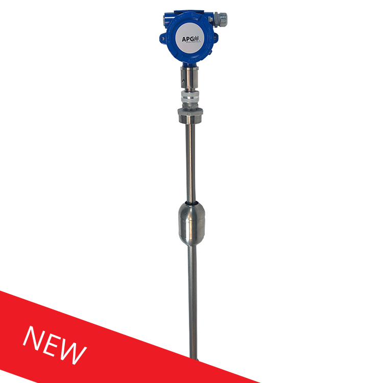 NEW! APG MPI-T Intrinsically Safe Titanium Level Probe
